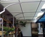 Model Tenda Membran Atau Canopy Membrane  Teras Rumah