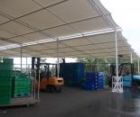 Model Tenda Membran Atau Canopy Membrane Gudang