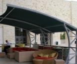 Model Tenda Membran Atau Canopy Membrane Kumpul keluarga
