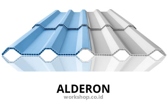 Jenis Atap Alderon dan model yang Cocok untuk rumah anda