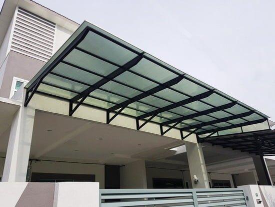 Harga Kanopi Minimalis Terbaru 2020 Bengkel Las Sukabumi Jakarta