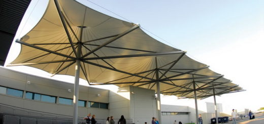 Model & Desain Tenda Membrane