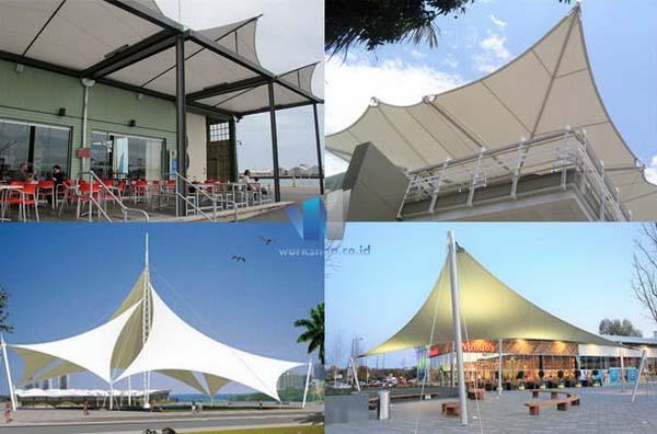 Tenda Membrane Canopy Cafe